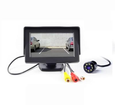 Speedwav TFT Monitor with LED Reverse Parking Camera-Universal Black LCD