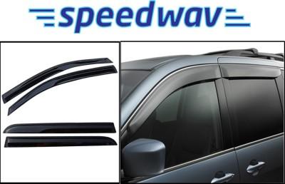 Speedwav In Channel Black Window Visor
