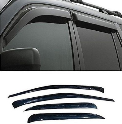 Carsaaz Tape on Black Window Visor