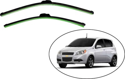 Medetai Windshield Wiper For Chevrolet Aveo(Passenger And Driver Side Wipers Pack of)
