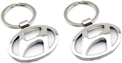 Ezone Hyundai Pack of 2 Key Chain