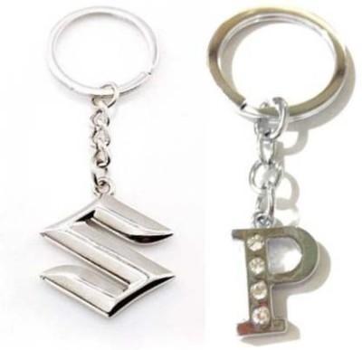 Rashi Traders Maruti Suzuki & Potty Box Key Chain