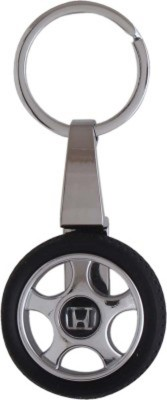 Amor Honda Tyre Rotary Wheel Key Chain Locking Key Chain