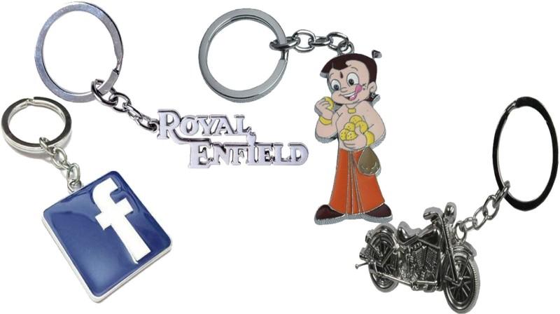 Alexus Alexus key ring combo of 4 Key Chain
