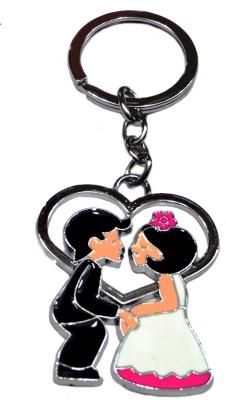 FASHION FEVER CLASSY COUPLE GOSSIP HEART FULL METAL Key Chain