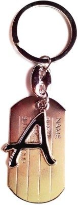 KeepSake A Alphabetical Shaped Key Chain Key Chain