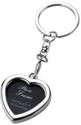 Madhuraj Heart Shaped Photo frame Key Chain
