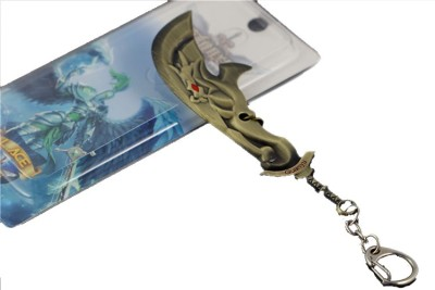 Turban Toys League Of Legends Stylish Metal Sword Key Chain