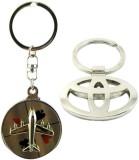 Alexus Aeroplane And Toyota Key Chain (S...