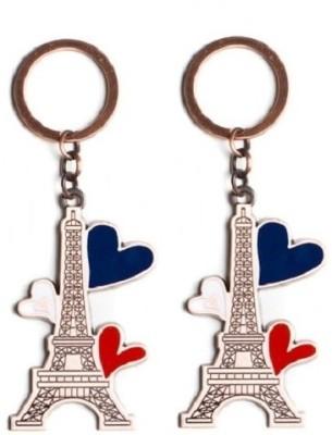 Phoenix Pack Of 2 Eiffel Tower Key Chain