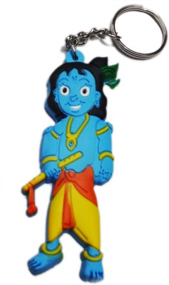 Aditya Traders rubber bal krishna Key Chain