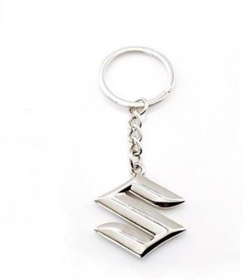 Indiashopers Suzuki Metallic Key Ring Key Chain