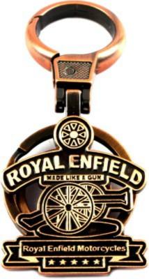 Spotdeal SDL636 Royal enfield Full metal keychain Locking Carabiner