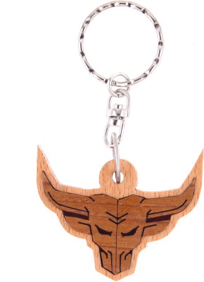 JM Angry Bull Key Chain