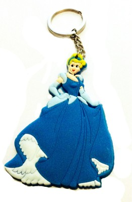 Chooz Designer Studio beautiful-barbie-3D rubber Key Chain