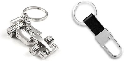 Chainz Formula 1 and Leather Hook Key Chain