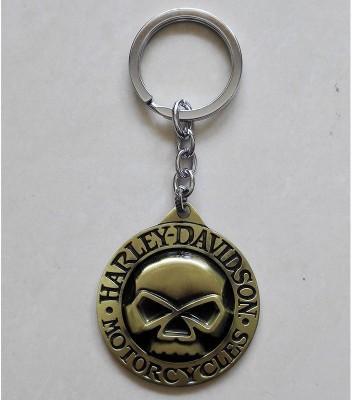Optimus traders Motor Harley-Davidson Cycles big Skull Logo Locking Key Chain