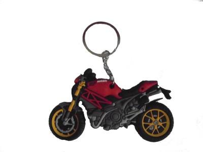 Spotdeal SDL646 DUCATI Rubber keychain Carabiner