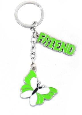 ShopeGift Butterfly Friend Metal Key Chain