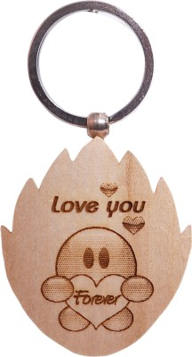Oyedeal Express Love KYCN338 Wooden Engraved Key Chain