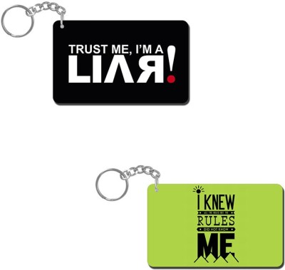 Lovely Collection I Am A Liar Key Chain