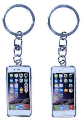 Phoenix Pack Of 2 iPhone Replica Metal Key Chain