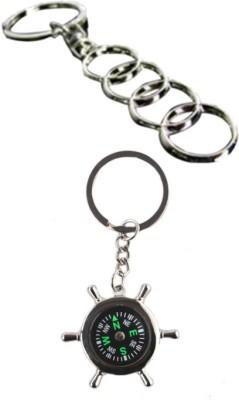 Alexus Audi And Compass Key Chain