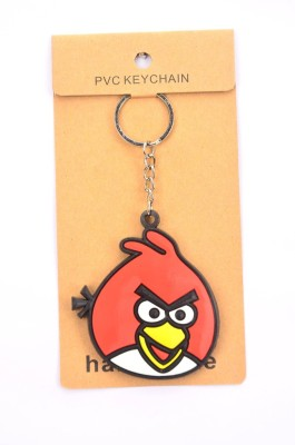 Shrisay Ventures Red Angry Bird Pack Of 2 Key Chain