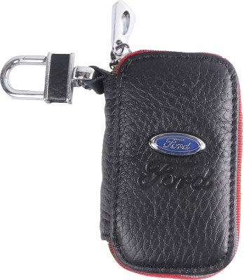 Heaven Deal Ford Key Small Black Chain Car Remote Holder Locking Carabiner