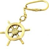 Artshai Ship Wheel Locking Key Chain (Go...