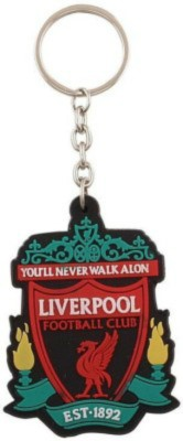 spotdeal SDL395 Liverpool Football Rubber Key Chain Carabiner