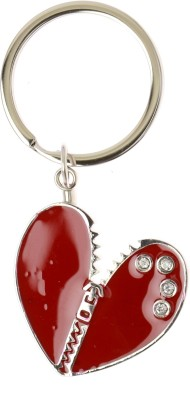 Kairos Zip Heart Key Chain