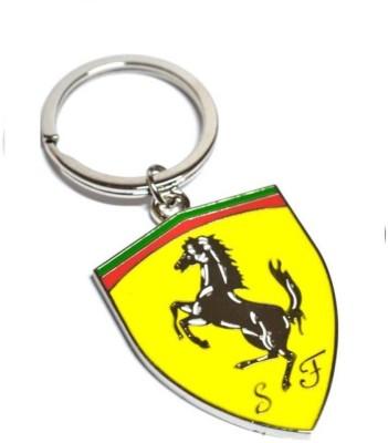 sophiamax SM37 Ferrari Metal Yellow Key Chain