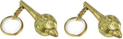 Goodbuy Set of 2 Hanuman Gadha Key Chain