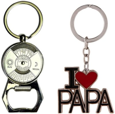 Alexus Calender Opener And Papa Key Chain