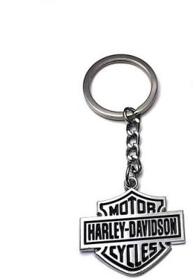 Ezone Davidson Metal Key Chain(Silver) Key Chain