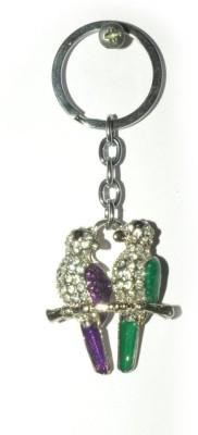 Odisha Bazaar Handbag Buckle Charms Accessories Purple Green Love Bird Key Chain