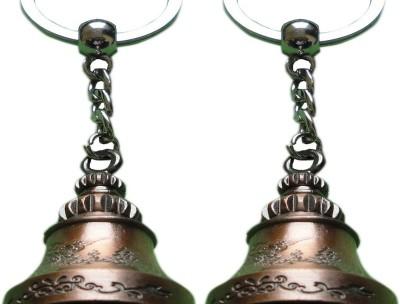 Singh Xpress Key Chain- Brass Bell(Pack Of 2) Key Chain
