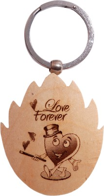 Oyedeal Express Love KYCN354 Wooden Engraved Key Chain