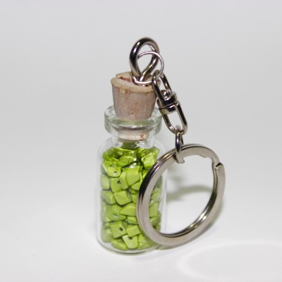 Khatte Meethe Desires KEYHOLDER- OLIVE Locking Key Chain