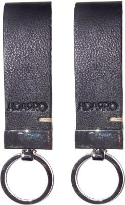 Adarro Leather Loop Keyring Key Chain