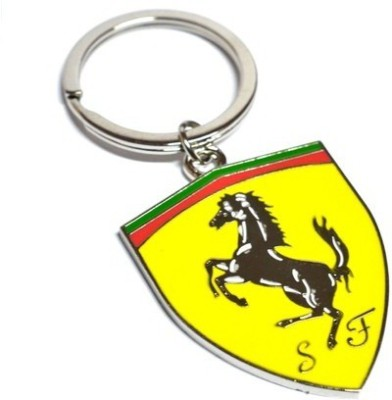 Ezone Ferrari Metal Key Chain(Multicolor) Key Chain