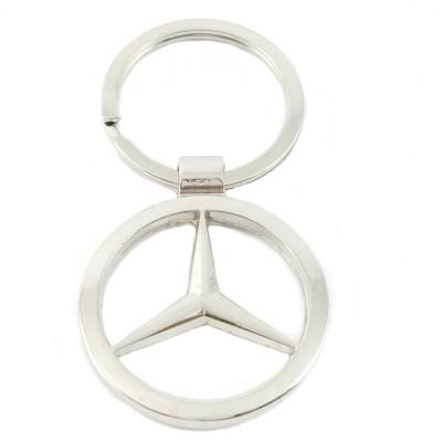 Rudham Mercedes Benz Logo Metal Car Key Chain