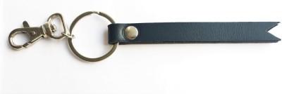 Cuero Simple Leather Locking Key Chain
