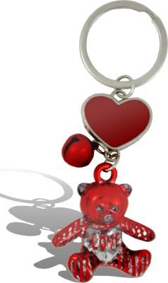 Get Fatang 3 Dimensional Teddy Love Valentine Key Chain