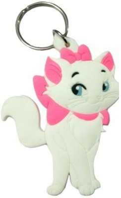 ABZR Pussy at KeyChain White Key Chain