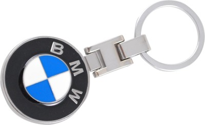 Forty Creek Round Bmw Logo Locking Key Chain