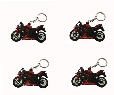 ABZR Yahama Bike 4 Piece KeyChain Key Chain
