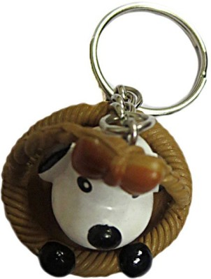 DCS Cute dog keychain Locking Carabiner