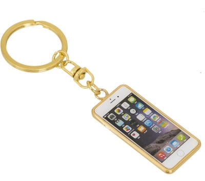 Gadge Mobile Phone Gold Key Chain
